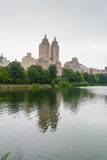 Lac central Park, NYC Photographie stock libre de droits