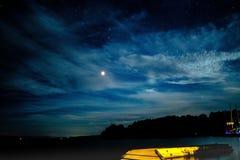 Lac Champlain photo libre de droits