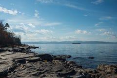 Lac Champlain Photos stock