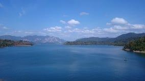 Lac Cheow Larn Photos libres de droits