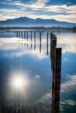Lac Chiemsee Photographie stock