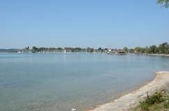 Lac Chiemsee en Allemagne Images libres de droits