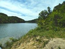 Lac Chiemsee en Allemagne près de Munich photos stock