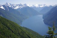 Lac Chilliwack en cascades du nord image stock
