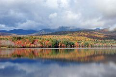 Lac Chocorua, NH Image stock