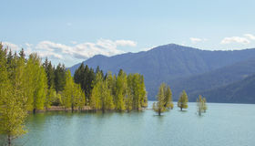 Lac Cle Elum Photo stock