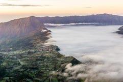 Lac cloud Images libres de droits