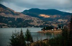 Lac Colibita Photo libre de droits