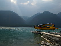Lac, Colombie-Britannique Photo stock