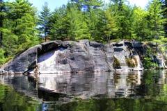 Lac comme miroir Images stock