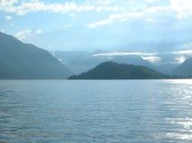 Lac Como. Photo stock