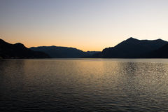 Lac Como photographie stock