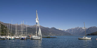 Lac Como Photo libre de droits