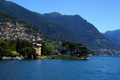 Lac Como Photographie stock