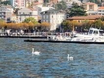 Lac Como Image libre de droits