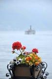 Lac Como chez Menaggio Photo libre de droits