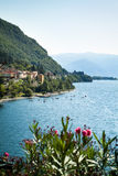 Lac Como Dervio Image stock