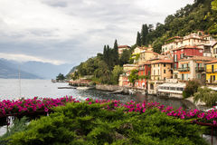 Lac Como en Italie Photo libre de droits