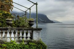 Lac Como, Italie image stock
