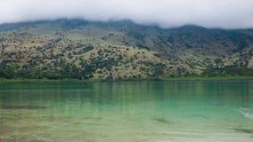 Lac Crète greece panoramique clips vidéos