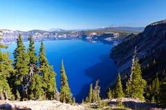 Lac crater Images libres de droits