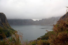 Lac crater de Pinatubo Images stock