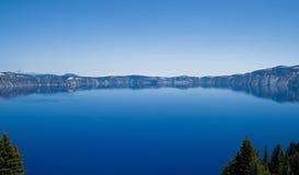 Lac crater en Orégon Photographie stock libre de droits