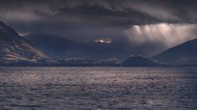 Lac crater - Nouvelle-Zélande Photos libres de droits