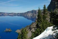 Lac crater, Orégon photos stock