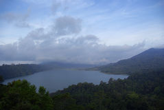Lac d'île de Bali photos libres de droits