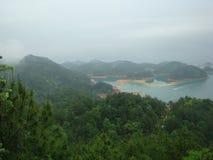 Lac d'île de milliers de la Chine Suzhou Images stock