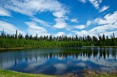 Lac d'Alaska Photo libre de droits