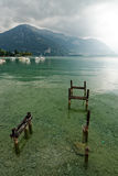 Lac d`Annecy Lake Annecy, France Stock Photos