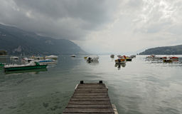 Lac d`Annecy Lake Annecy, France Royalty Free Stock Images