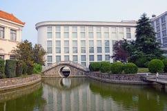 Lac d'art de la Chine Photos stock