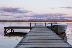 lac d'automne Images libres de droits