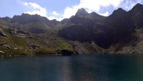 Lac d'Ayous dans les Pyrénées Image libre de droits