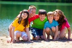 lac d'enfants Image libre de droits