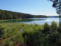 Lac d'ius de ¾ de SpindÅ (Lithuanie) Photos libres de droits