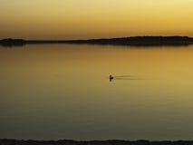 Lac d'orient przy zmierzchem zdjęcia royalty free