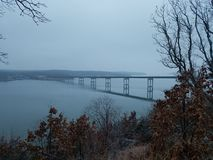 Lac d'Ozark Bride en automne photos stock