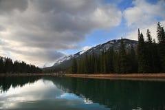 Lac dans Banff Photographie stock libre de droits