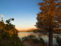 Lac dans Bariloche Photographie stock libre de droits