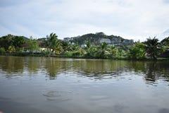 Lac dans Bophut, Koh Samui Images stock