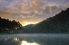 Lac dans l'amour Photographie stock
