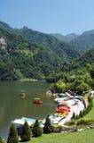 Lac dans la montagne de Cuihua Photos stock