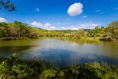 Lac dans la province de Krabi Thaïlande Images stock