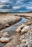 Lac dans le Burren Photos stock