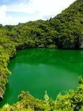 Lac dans le ciel Image stock