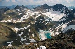 Lac dans le mountains-01 photo stock